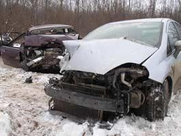 В Ижевске Fiat столкнулся с «семеркой»: пострадал ребенок