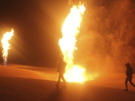За несколько часов до выборов в Египте взорвали газопровод