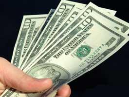 Курс доллара упал на 55 копеек