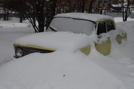 Ижевским водителям настроение испортят снежные заносы