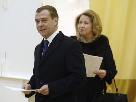 Президент РФ и его супруга проголосовали