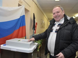 Ижевчане активно голосуют