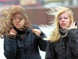 В Ижевске упавшие от сильного ветра забор и фонарь завалили пешеходную дорожку