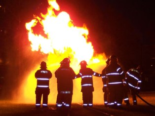 В Домодедово загорелся ангар, 1 рабочий погиб