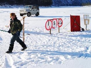 В Удмуртии открылась ледовая переправа через реку Кама