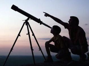 Ижевчан приглашают посмотреть в телескоп на Солнце, Луну и Юпитер