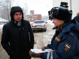 ГИБДД в Ижевске применила метод «шоковой терапии» для водителей-нарушителей