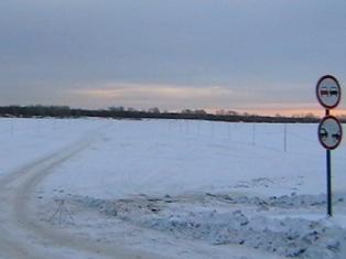 На ледовой переправе в Удмуртии увеличили грузоподъемность