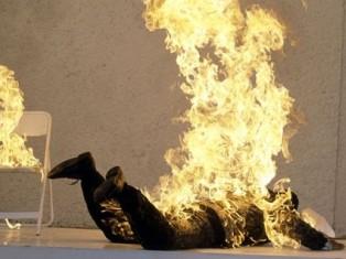 В Удмуртии заживо сгорел мужчина, прислонившийся к плите