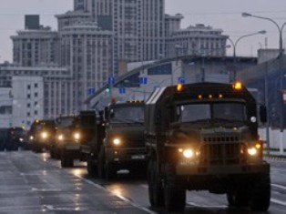 Полицейские опровергают информацию о вводе войск в Москву в день митинга