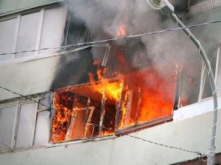 В Ижевске инвалид поджег свою квартиру