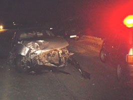 Под Ижевском в лобовую сошлись «Ока» и Daewoo: за рулем был пьяный