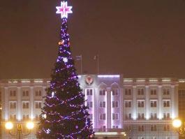 В новогодних гуляниях в Ижевске приняли участие 30000 горожан
