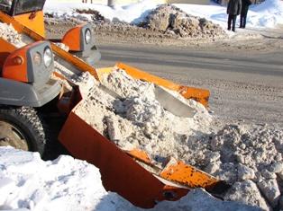За новогодние праздники с улиц Ижевска вывезли более 3 тысяч тонн снега