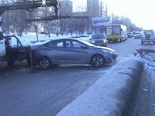 В Ижевске водителя хватил удар прямо за рулем