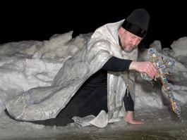 В Ижевске в Крещение похолодает до -20°С