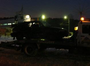Крупное ДТП в Ижевске: машина ДПС протаранила ВАЗ-2114