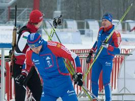 В Ижевске Черезов и Максимов встретились на лыжне