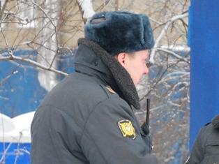 К приезду полпреда президента на улицы вывели усиленный состав полиции Ижевска
