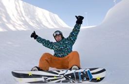 Сноубордисты обкатывают