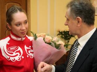 Президент Удмуртии: биатлонистка Кайшева защитит честь страны на Олимпиаде в Сочи