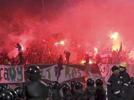 Массовая драка на стадионе в Египте: 73 человека погибли, 300 пострадавших
