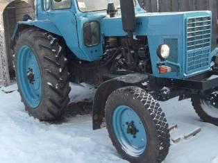 В Удмуртии трактор наехал на своего водителя