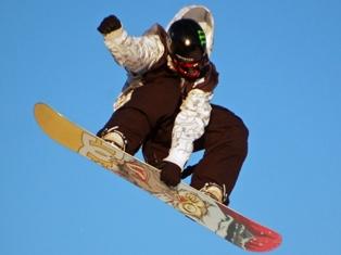 Сноубордист-акробат из Ижевска победил на первенстве России