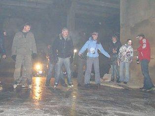 Ижевчан приглашают на экстремальное подземное катание на коньках