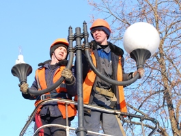 В Ижевске затягиваются сроки по замене уличных ламп на более современные