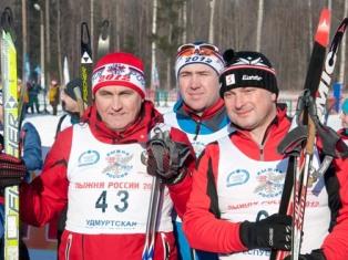 «Лыжня России-2012» в Ижевске состоялась, несмотря на мороз