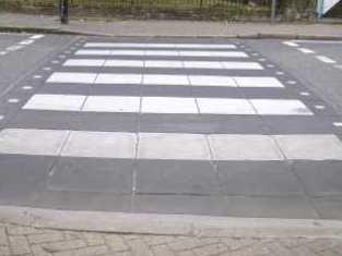 В Ижевске «зебры» поднимут над асфальтом и вырежут на дорогах