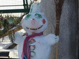 В Ижевске выберут лучшего снеговика