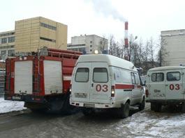 В Ижевске задымился один из кабинетов МСЧ №3