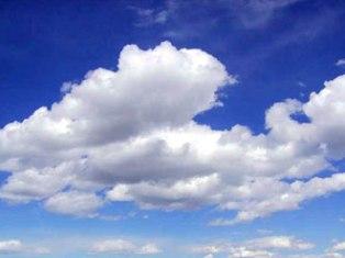 Облака начали падать на Землю