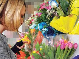 Ижевчанам в готовом букете могут продать цветок без бутона