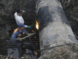 Из-за аварии в Удмуртии без горячей воды и тепла оказались более тысячи домов