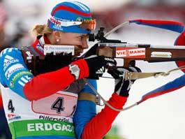Первая гонка чемпионата мира по биатлону: россияне без медалей
