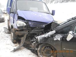 В Ижевске из-за снегопадов число ДТП на дорогах выросло вдвое