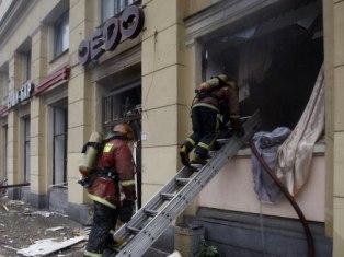 В Петербурге взорвался китайский ресторан
