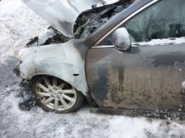 За  два месяца в Удмуртии сгорели 32 машины