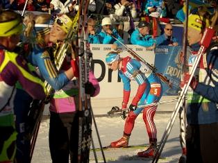 Перед заключительными гонками сборная Россия по биатлону седьмая в медальном зачете