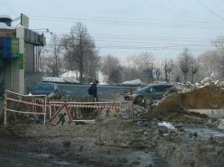 Последствия коммунального ЧП в Ижевске: наледь на центральных улицах убрали