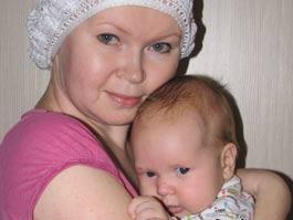 Спасти маму! Ижевчанка, недавно родившая малыша, борется с раком