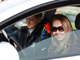 В Ижевске завершился автомобильный марафон «Lady Volkswagen»