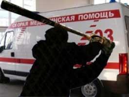 В Москве неадекватный водитель зверски избил битой врача «скорой помощи»