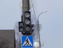 Светофоры в Ижевске отключаются из-за старой проводки