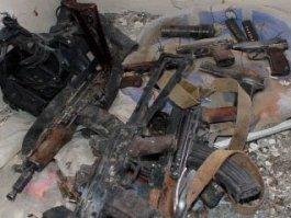 В Удмуртии нашли тайник с оружием