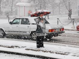 В Ижевск снова идут снег и метели