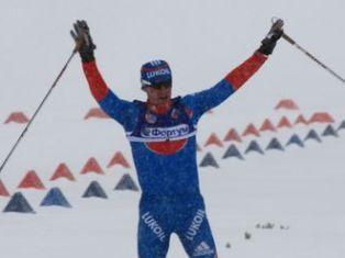 Лыжник из Удмуртии Максим Вылегжанин выиграл золото на чемпионате России